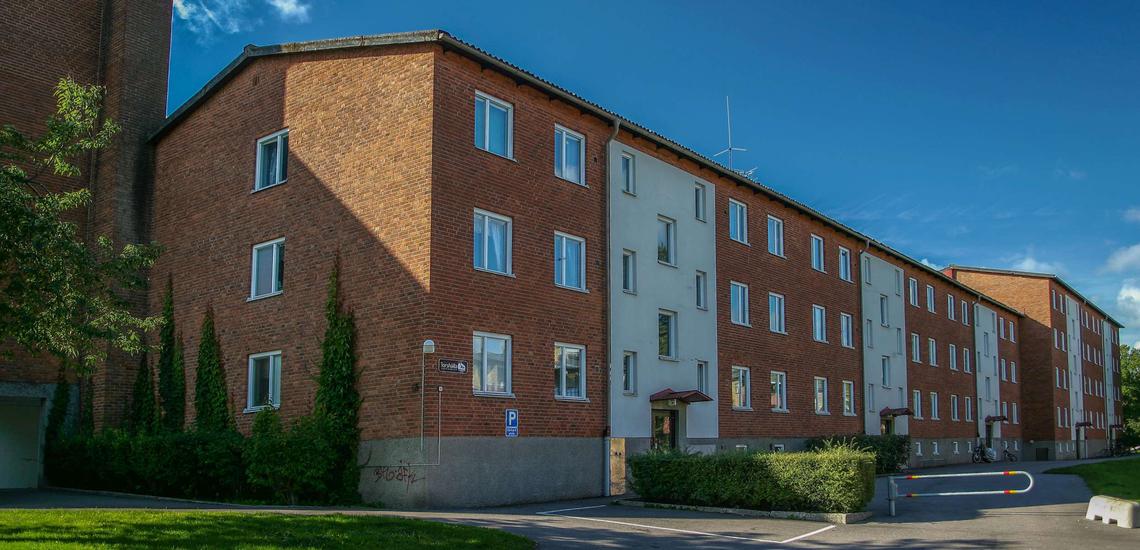 Fastigheten på Riktargatan 65B.